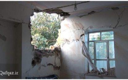 اصابت ۱۰ راکت مناقشه قره باغ به روستاهای خداآفرین و مصدومیت یک نفر / عکس