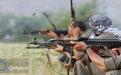حضور اعضای گروه تروریستی پ.ک.ک در شهر اشغالی شوشا