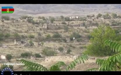 فیلمی کوتاه از آزادسازی کامل شهرستان جبرائیل توسط ارتش آذربایجان