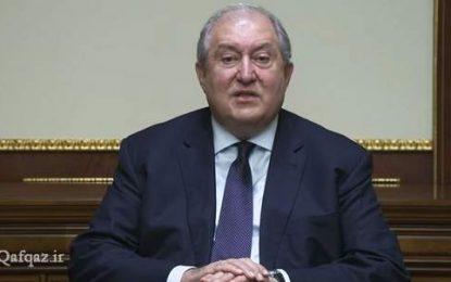 رئیسجمهور ارمنستان خواستار استعفای دولت و انتخابات زودهنگام شد