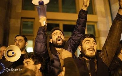 مخالفان دولت ارمنستان خواستار استعفای پاشینیان شدند