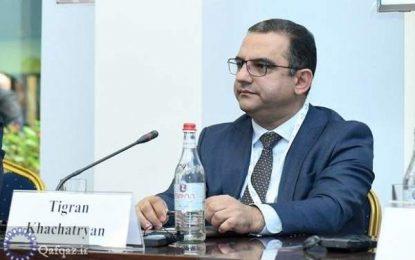 در ادامه زنجیره اخراج و استعفای وزرای کابینه ارمنستان؛ وزیر اقتصاد از سمت خود استعفا داد