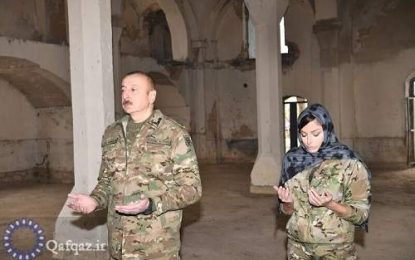 رئیس جمهور آذربایجان: رهبران کشورهای غربی حق ابراز نگرانی درباره اماکن دینی در قره باغ را ندارند