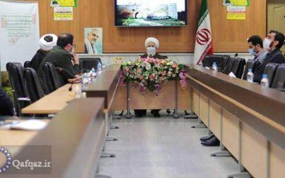 """گزارش تصویری از نشست """"نقش فرهنگ عاشورا در آزادسازی قره باغ"""" در زنجان"""