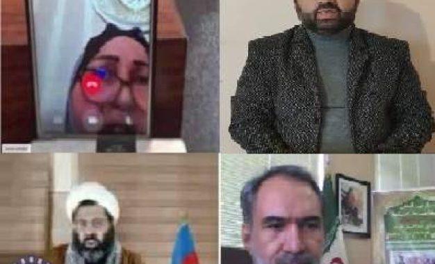 وبینار بین المللی بزرگداشت مقام شامخ شهید سلیمانی، شهدای مدافع حرم و قره باغ در اردبیل برگزار شد