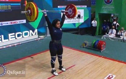 İranlı qadın atlet adını tarixə yazdırdı