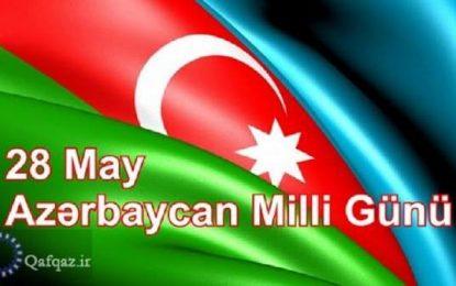 İranın dövlət rəsmiləri Azərbaycan dövlətini təbrik edirlər