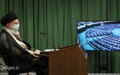 Ayətullah Xameneinin parlament nümayəndələri ilə görüşü- FOTO