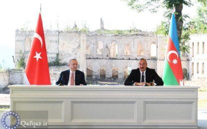 Azərbaycan və Türkiyə prezidentləri mətbuata birgə bəyanatlarla çıxış ediblər