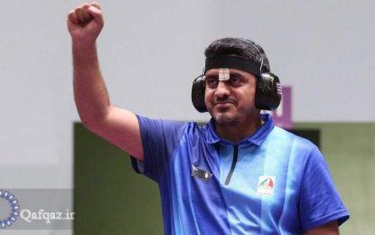 Cavad Furuği hamını heyrətləndirdi; Atıcılıq sahəsində İranın ilk olimpiya medalını qazandı