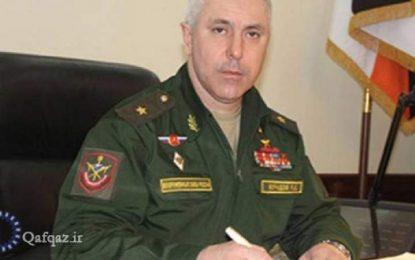 Rusiyalı sülhməramlıların komandirinin Qarabağda xidmət müddəti başa çatıb