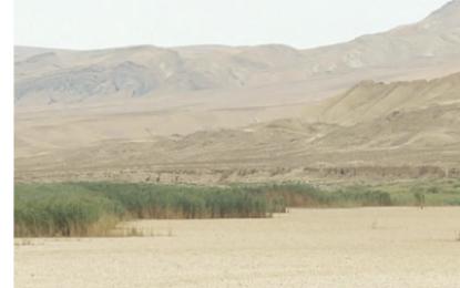 Pirsaat su anbarı quruyub, 5 kəndin əhalisi susuz qalıb/FOTO