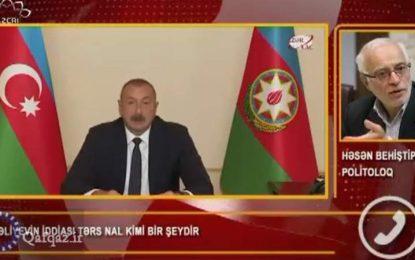 İlham Əliyev niyə İranı şərlədi?