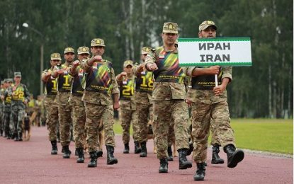 روسیه ایران را دعوت به مسابقات بین المللی نظامیان کرد