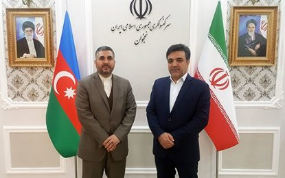 گسترش همکاریهای مشترک علمی و دانشگاهی بین ایران و نخجوان