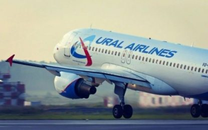 فرود اضطراری هواپیمای روسی به علت تهدید بمب گذاری در باکو