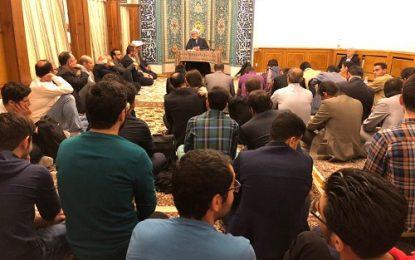 برگزاری جشن باشکوه ولادت باسعادت امام حسن مجتبی(ع) در مسجد خاتم الانبیاء مسکو