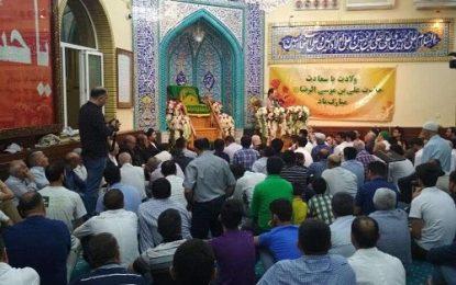برگزاری جشن ولادت ثامن الحجج در جمهوری آذربایجان