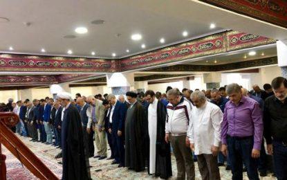 برگزاری نماز عید سعید قربان در روسیه