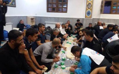 خدماترسانی ستاد اجرایی فرمان امام به زائران اربعین در مرز ایران و جمهوری آذربایجان