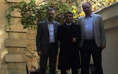انتشار تصویر روزنامه نگاران ارمنی از باکو