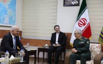 دیدار معاون نخست وزیر جمهوری آذربایجان با سرلشکر باقری