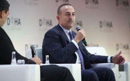 چاووش اوغلو: ترکیه مخالف تحریمها علیه ایران است