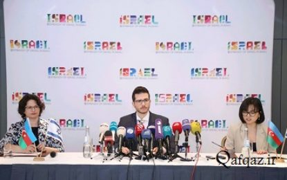 حضور مقامات باکو در مراسم «هولوکاست» واقع در سرزمین های اشغالی قدس
