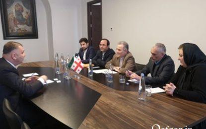 درخواست رییس دانشگاه قفقاز برای برگزاری هفته فرهنگی ایران در گرجستان