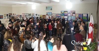 افتتاح دهمین نمایشگاه نقاشی دانشآموزان گرجی و ایرانی در تفلیس