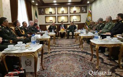 برگزاری دومین کمیسیون مشترک نظامی ایران و جمهوری آذربایجان