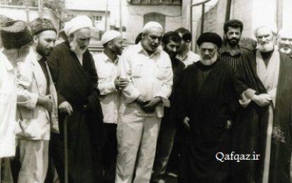 عکس تاریخی در باکو؛ به بهانه ی سالگرد وفات آیت الله مروج