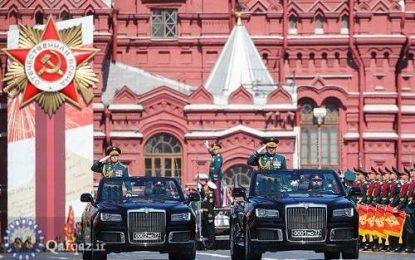 برگزاری رژه پیروزی با شرکت نظامیان 14 کشور در مسکو