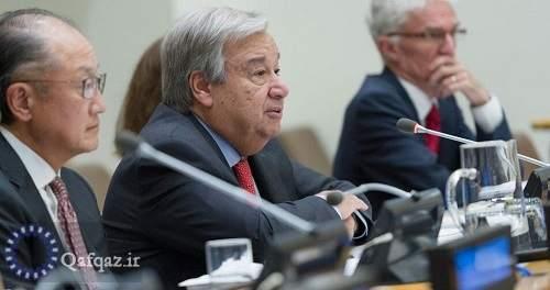 سازمان ملل خواهان آتشبس فوری میان ارمنستان و جمهوری آذربایجان شد