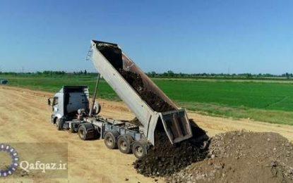 آغاز ساخت جاده جدید در مرز ایران و جمهوری آذربایجان