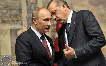گفتگوی تلفنی اردوغان و پوتین درباره تنش جمهوری آذربایجان و ارمنستان