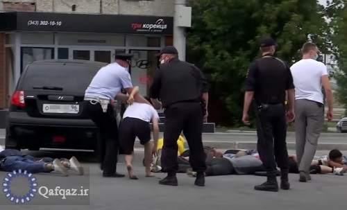 درگیری میان شهروندان جمهوری آذربایجان و ارمنستان در مسکو