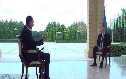 علی اف: کشورهای عضو گروه مینسک هیچ تلاشی بر اجرای قطعنامه های بین المللی انجام نداند