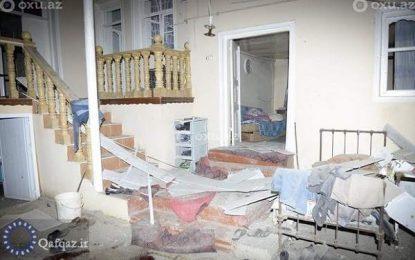 حمله موشکی ارمنستان اشغالگر به شهرستان های برده و گورانبوی جمهوری آذربایجان / عکس