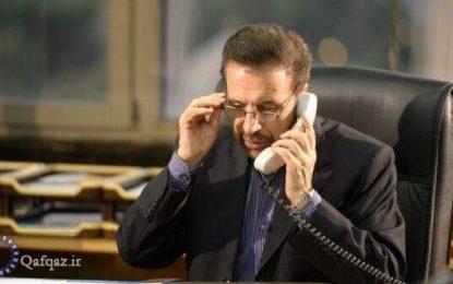 واعظی در گفت و گو با معاون نخست وزیر آذربایجان اعلام کرد: آمادگی ایران برای انتقال تجربیات مقابله با کرونا به جمهوری آذربایجان