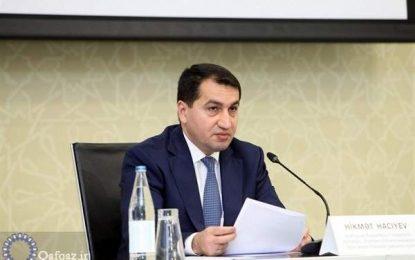 اعلام آمادگی باکو برای میانجیگری بین ترکیه و رژیم صهیونیستی