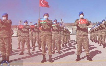 آموزش کماندوهای ارتش آذربایجان در ترکیه