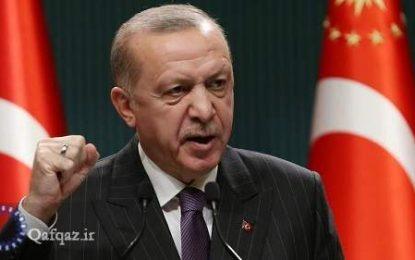 اظهارات اردوغان در واکنش به ادعای نسل کشی ارامنه از سوی بایدن