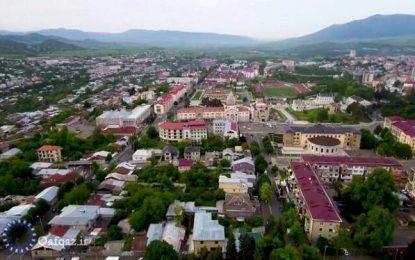 خروج جمعی ادوات نظامی ارمنی از خانکندی