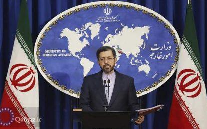 واکنش وزارت امور خارجه به مسائل بوجود آمده در مرزهای جمهوری آذربایجان و ارمنستان