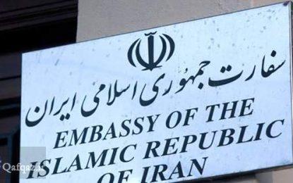 واکنش سفارت ایران به سخنان عوامفریبانه سفیر رژیم صهیونیستی در باکو