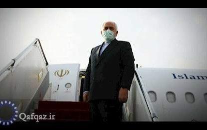محمد جواد ظریف وارد باکو شد
