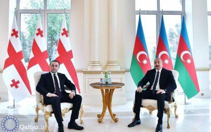 دیدار نخست وزیر گرجستان با رییس جمهور آذربایجان