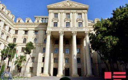 بیانیه باکو در رابطه با حوادث اخیر در مرز جمهوری آذربایجان و ارمنستان