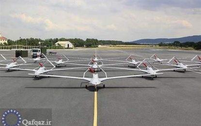 برگزاری رزمایش هوایی جمهوری آذربایجانبا پهباد های ترکیه ای